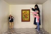 ワンダーキャッスル トリックアート オモシロ写真展(2/9~3/10)